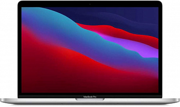 "Ноутбук Apple MacBook Pro 13 Late 2020 (Apple M1/13""/2560x1600/16GB/256GB SSD/DVD нет/Apple graphics 8-core/Wi-Fi/Bluetooth/macOS) Z11D0003C, Cеребристый"