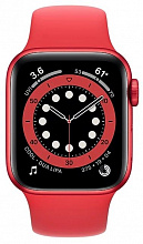 Часы Apple Watch Series 6 GPS 40mm Aluminum Case with Sport Band (PRODUCT)RED