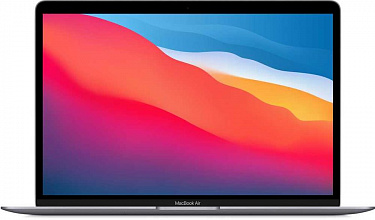 "Apple MacBook Air (M1, 2020) 13,3"" 16Gb, SSD 256Гб, Z1240004P, серый космос"