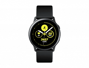 Часы Samsung Galaxy Watch Active SM-R500 Чёрный сатин