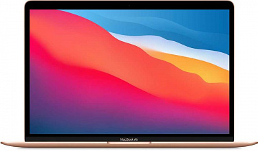 "Apple MacBook Air (M1, 2020) 13,3"" 16Gb, SSD 256Гб, Z12A0008Q, золотой"