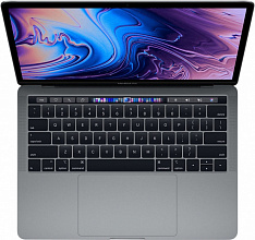 "Ноутбук Apple MacBook Pro 13 with Retina display and Touch Bar Mid 2019 (Intel Core i5 1400 MHz/13.3""/2560x1600/8GB/256GB SSD/DVD нет/Intel Iris Plus Graphics 645/Wi-Fi/Bluetooth/macOS) (Серый космос)"