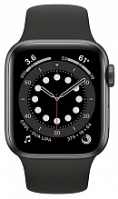 Часы Apple Watch Series 6 GPS 40mm Aluminum Case with Sport Band (Серый космос/Черный)