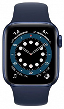 Часы Apple Watch Series 6 GPS 40mm Aluminum Case with Sport Band (Синий/темный ультрамарин)