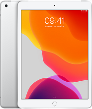 Планшет Apple iPad (2019) 32GB Wi-Fi + Cellular Серебристый (Silver)