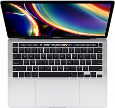"Ноутбук Apple MacBook Pro 13 дисплей Retina с технологией True Tone Mid 2020 MXK62 (Intel Core i5 1400MHz/13.3""/2560x1600/8GB/256GB SSD/DVD нет/Intel Iris Plus Graphics 645/Wi-Fi/Bluetooth/macOS) (Серебристый)"