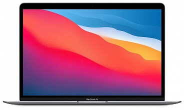 "Ноутбук Apple MacBook Air 13 Late 2020 (Apple M1/13.3""/2560x1600/16GB/512GB SSD/DVD нет/Apple graphics 7-core/Wi-Fi/Bluetooth/macOS) Серый космос"