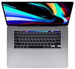 "Ноутбук Apple MacBook Pro 16 with Retina display and Touch Bar Late 2019 MVVJ2 (Intel Core i7 2600 MHz/16""/3072x1920/16GB/512GB SSD/DVD нет/AMD Radeon Pro 5300M 4GB/Wi-Fi/Bluetooth/macOS) Space Gray"