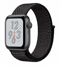 Умные часы Apple Watch Series 4 Nike+ 40mm GPS Space Gray Aluminum Case with Black Nike Sport Loop