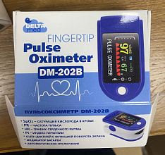 Пульсоксиметр Fingertip Pulse Oximeter DM-202B
