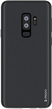 Чехол Deppa Case Silk для Samsung S9+ (черный металлик)