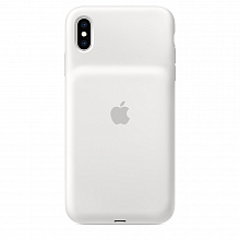 Чехол Apple Smart Battery Case для iPhone XS Max (белый)